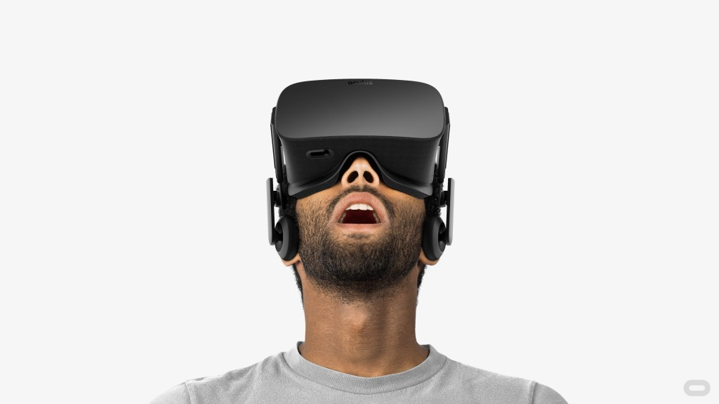 Oculus Rift VR as featured at CES 2016.